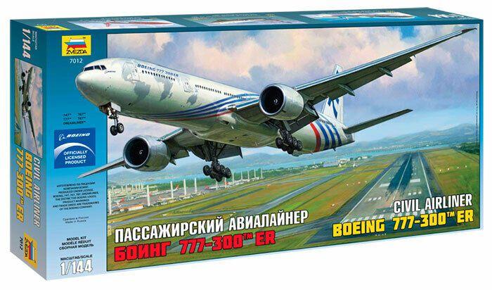Boeing 777-300 ER Zvezda 1/144