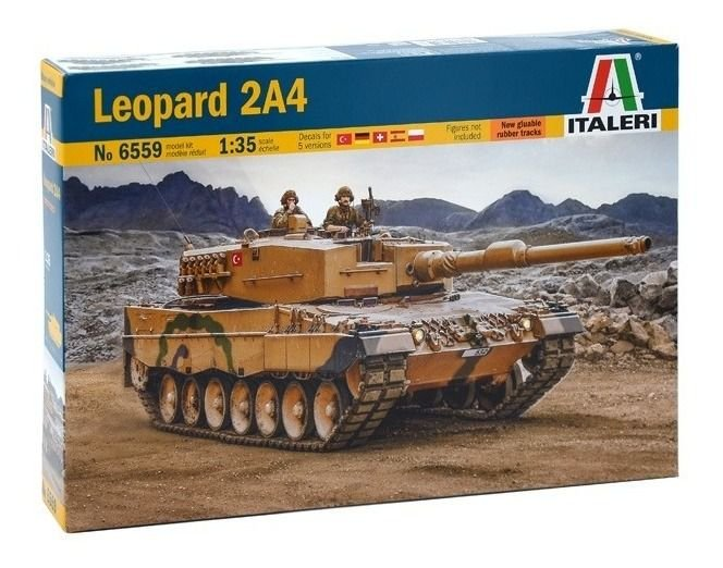 Tanque Leopard 2A4 Italeri 1/35