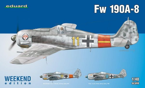Fw-190A-8 1/48 Eduard Weekend Edition