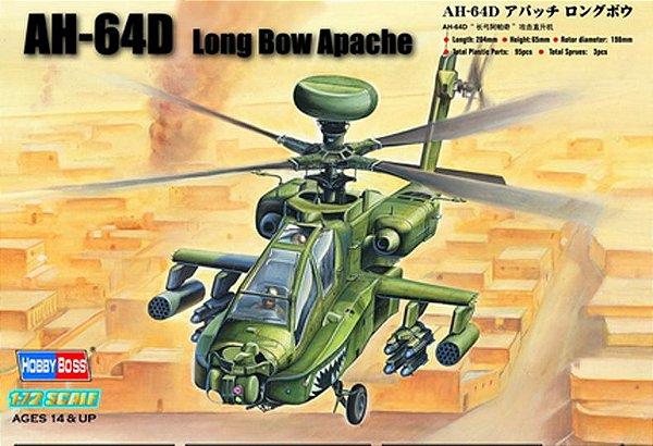 AH-64D Apache Long Bow 1/72 Hobby Boss
