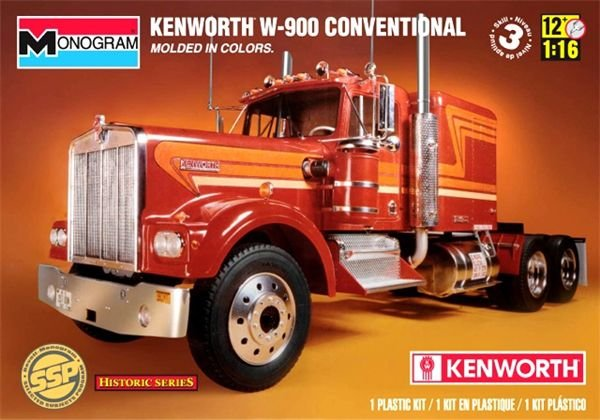 Kenworth W-900 Conventional SSP 1/16 Monogram Historic Series