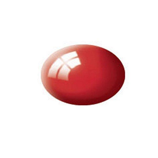 Vermelho Fiery Brilhante Aqua Color Revell 18ml