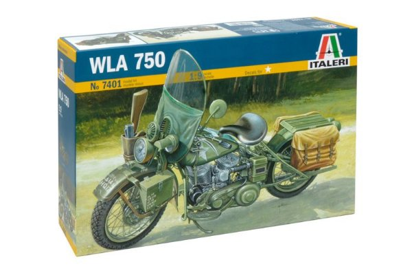 Harley Davidson WLA 750 1/9 Italeri