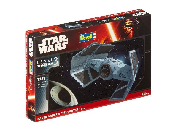 Darth Vader's Tie Fighter 1/121 Revell