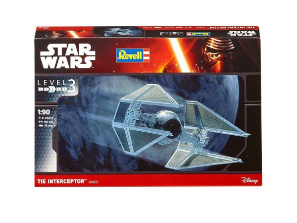 Star Wars TIE Interceptor 1/90 Revell