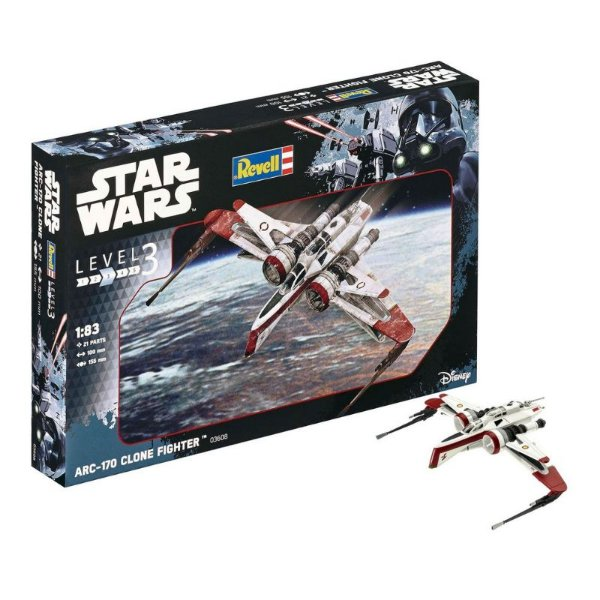Star Wars ARC-170 Fighter 1/83 Revell