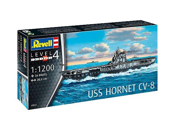 Porta Aviões USS Hornet CV-8 1/1200 Revell