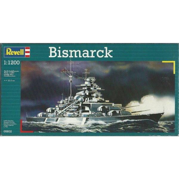 Encouraçado Bismarck 1/1200 Revell