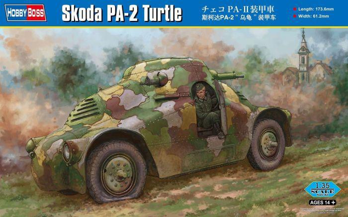 Blindado Skoda PA-2 Turtle 1/35 Hobby Boss