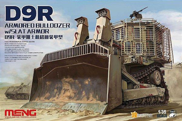 Bulldoozer Armored W/Slat Armor D9R 1/35 Meng