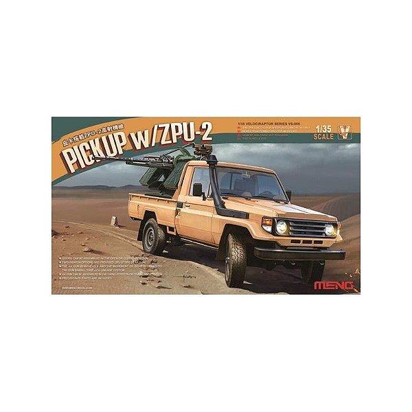 Pickup W/ZPU-2 1/35 Meng