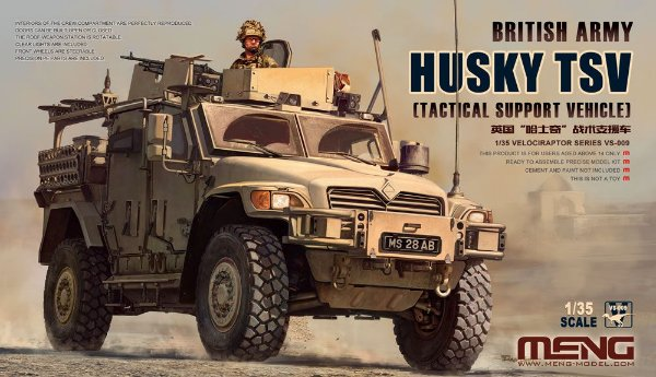 Tactical Support Vehicle Husky TSV 1/35 Meng