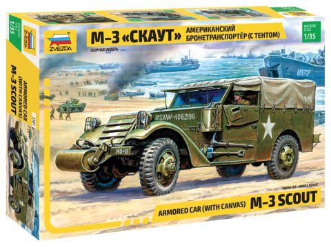 Scout Car M-2 1/35 Zvezda
