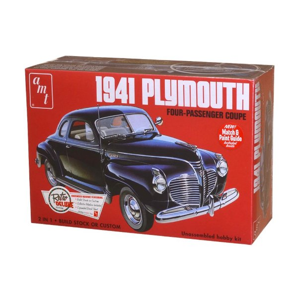 Plymouth 1941 1/25 AMT