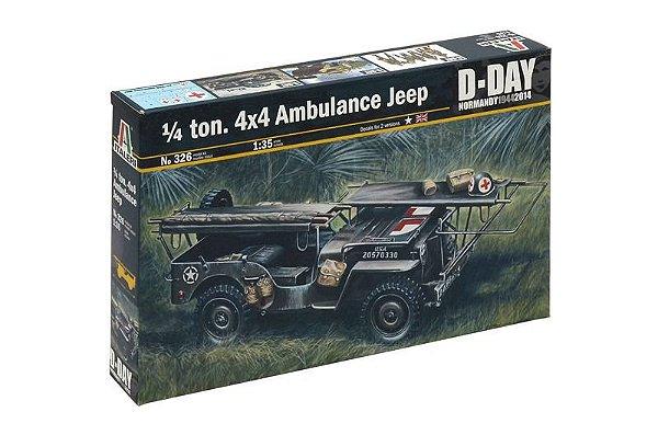 Jeep Willys do Dia D 1/35 Italeri