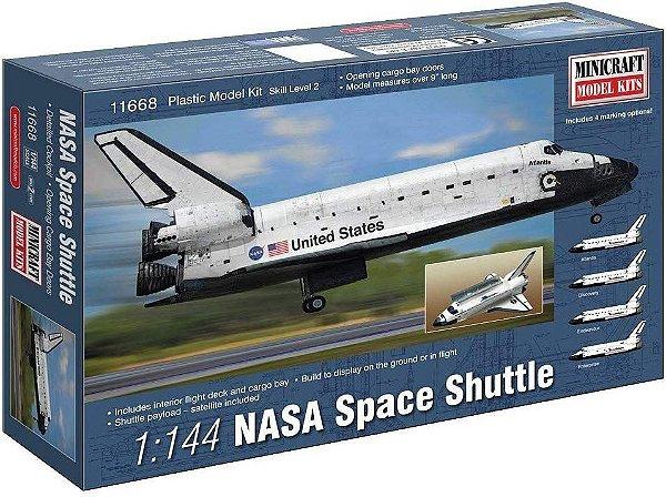 Ônibus Espacial da Nasa 1/144 Minicraft