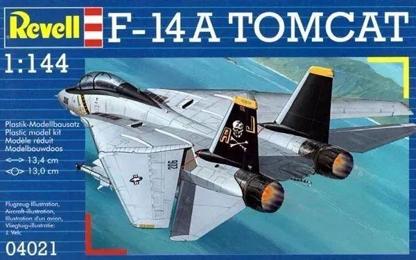 Caça Naval F-14A Tomcat 1/144 Revell