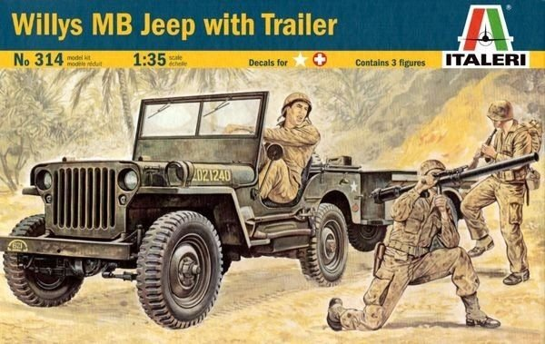 Jeep Willys 1/35 Italeri