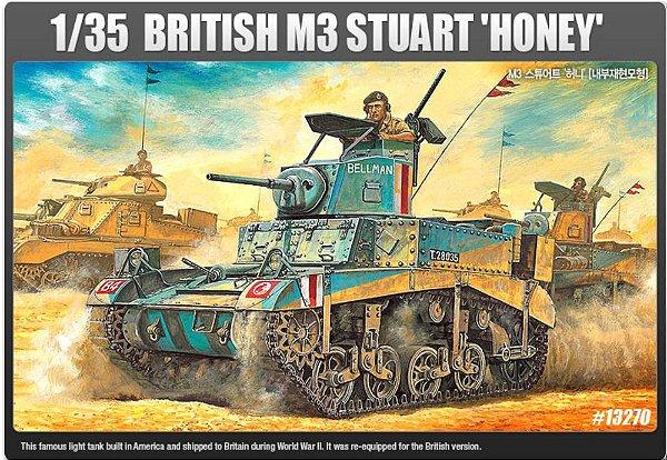 BRITISH M3 STUART HONEY 1/35 Academy