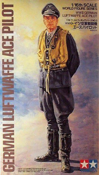 Piloto Alemão da Segunda Guerra Mundial 1/16 Tamiya