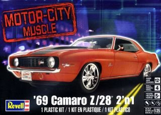 Muscle Car Camaro Z/28 69 2 EM 1 1/25 Revell