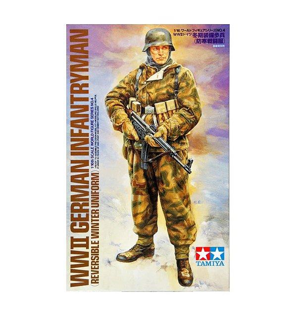 Soldado Alemão de Infantaria da Segunda Guerra Mundial 1/16 Tamiya Montado