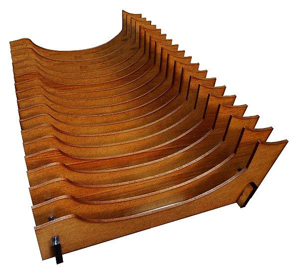 Organizador de Pratos Vertical (18 pratos)
