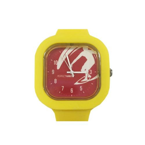 Relógio Perfect Waves Amarelo