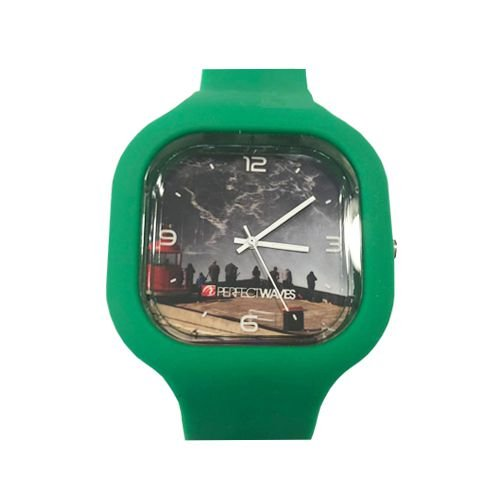 Relógio Perfect Waves Verde