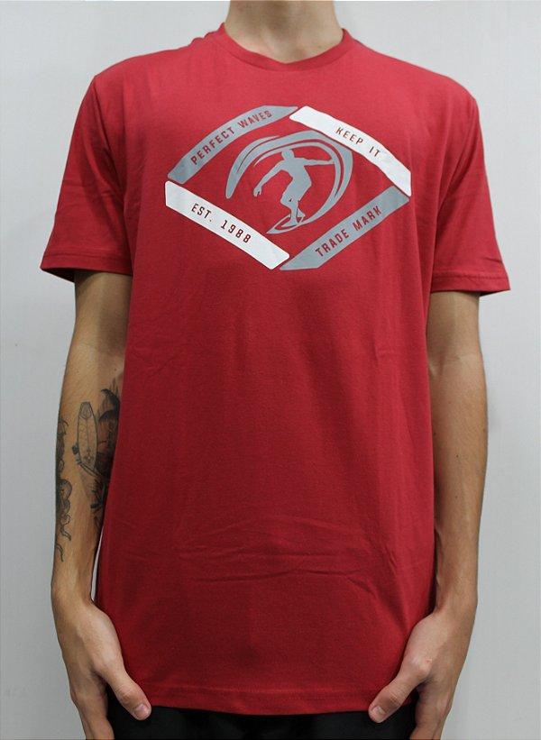 Camiseta Perfect Waves Red