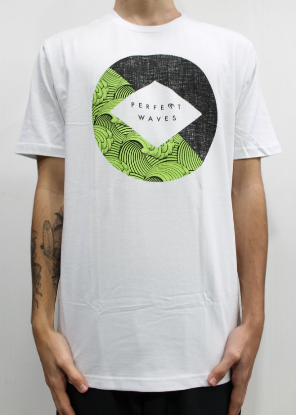 Camiseta Perfect Waves Green Wave