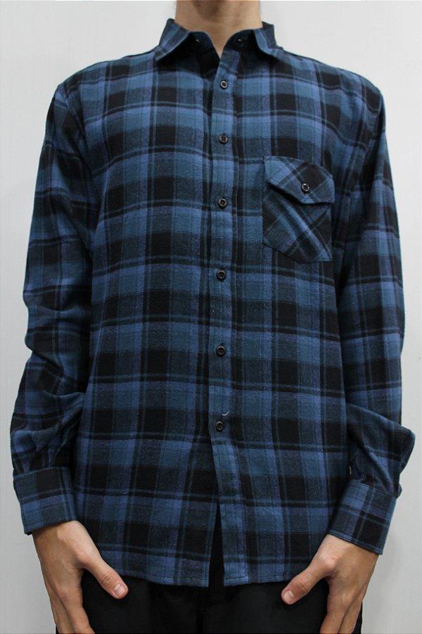 Camisa Surfly Xadrez Manga Longa Flanelada