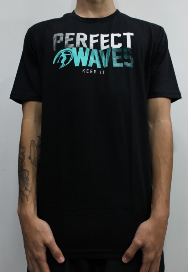Camiseta Perfect Waves Risc Logo