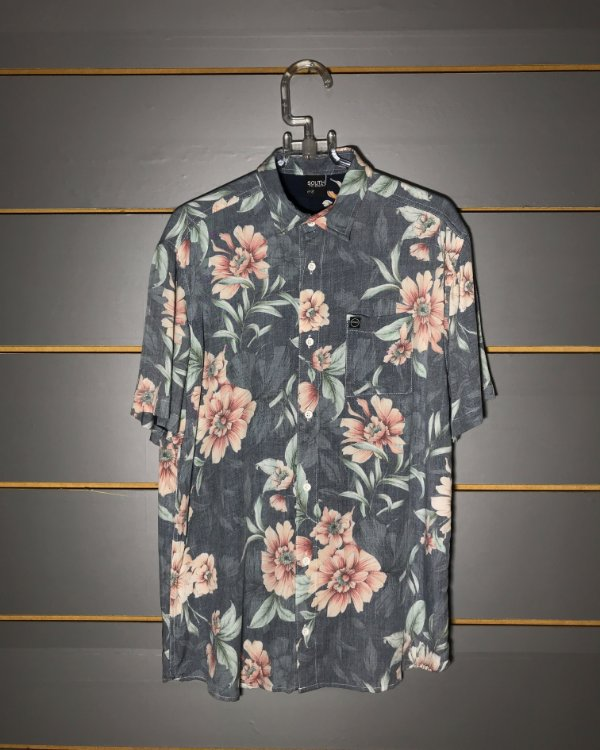 Camisa South To South Rose Flower