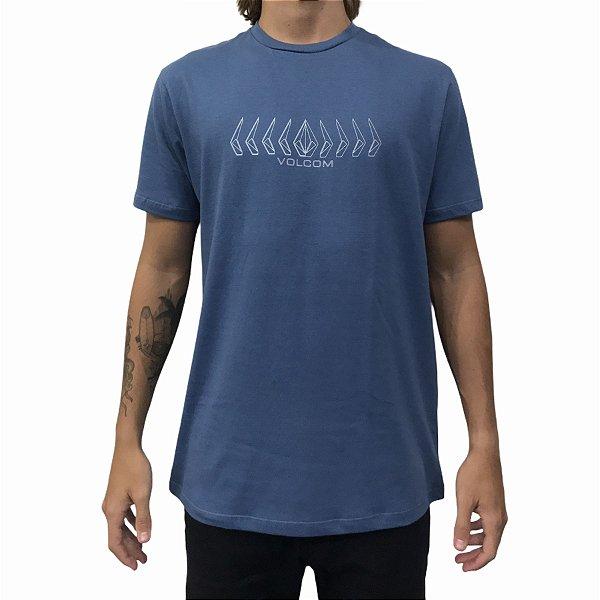 Camiseta Volcom Position Azul