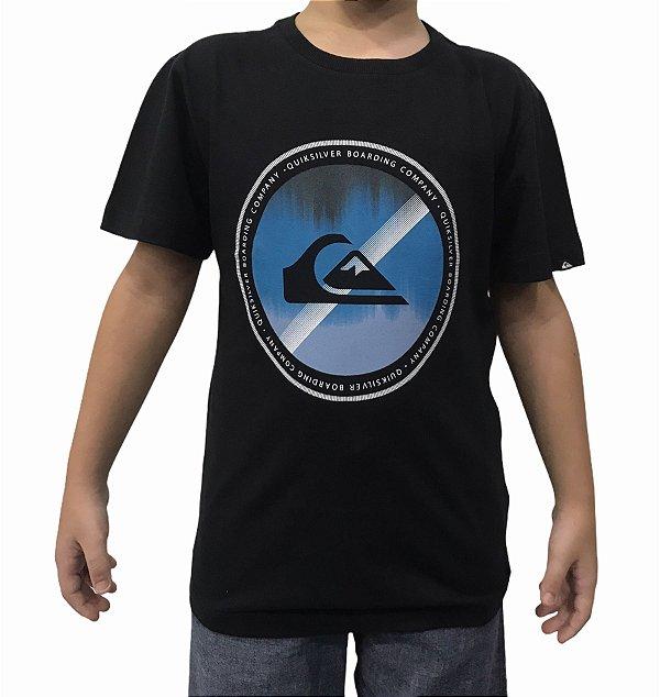 Camiseta Juvenil Quiksilver Board Color Boys