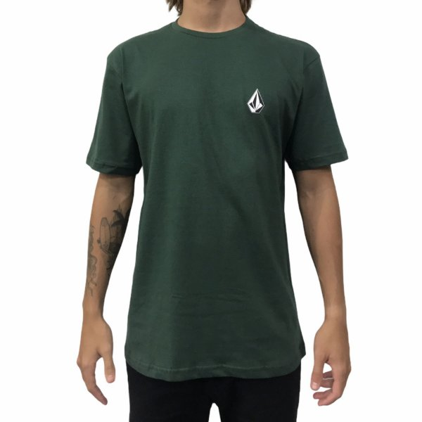 Camiseta Volcom Deadly Stone Verde