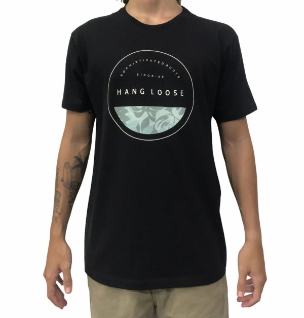 Camiseta Hang Loose Stamp Black
