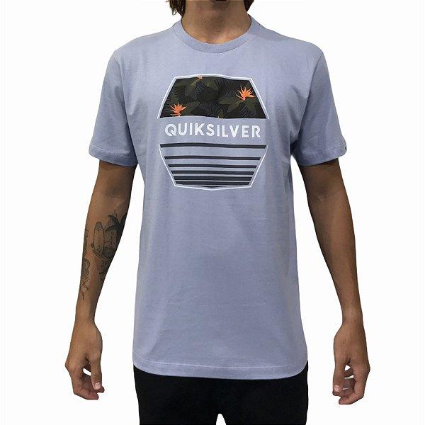 Camiseta Quiksilver Drift Away Aul Claro