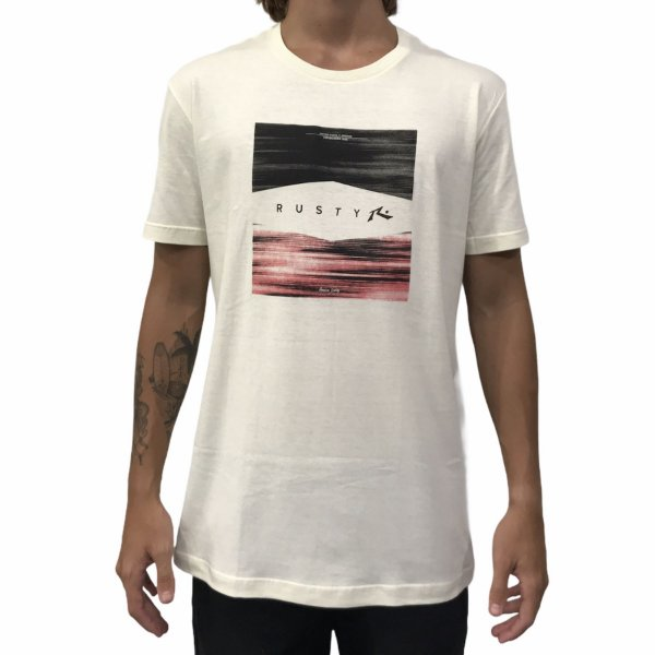 Camiseta Rusty Filter Off White