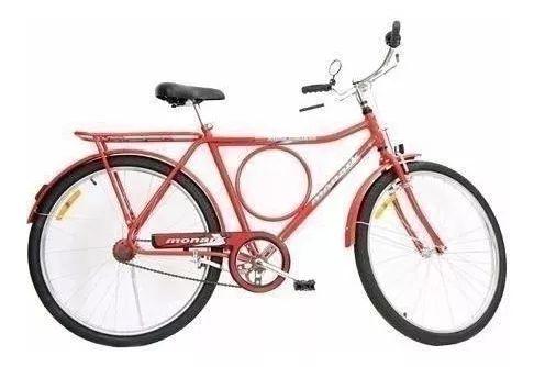 Bicicleta aro 26 Monark Barra Circular freio Varao