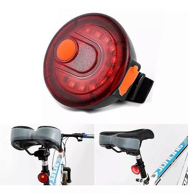 Luz traseira Bike Jam Bainbow Led Usb 120 lumens