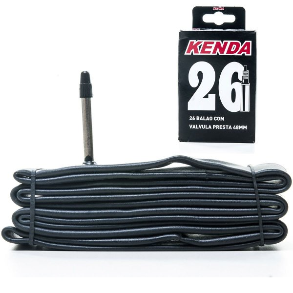 Camara de ar Kenda 26  Balão Válvula presta 48mm