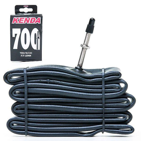 Camara de ar Kenda 700x18/23 Válvula presta 48mm