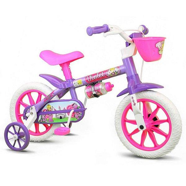 Bicicleta aro 12 Nathor Violet