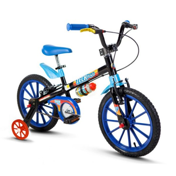 Bicicleta aro 16 Nathor Tech Boys