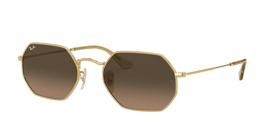 Ray-Ban Octagonal 0RB3556N Ouro