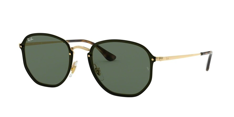 Ray-Ban Blaze Hexagonal 0RB3579N Ouro