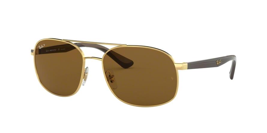 Ray-Ban  0RB3593 Ouro Polarizado