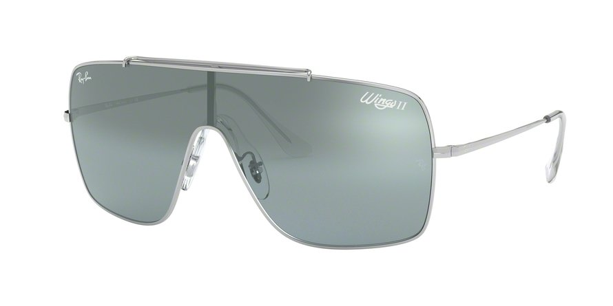 Ray-Ban Wings II 0RB3697 Prata